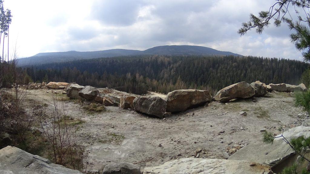 Kamieniołom piaskowca ciosowego w Polanicy