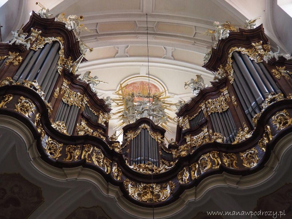 Organy w bazylice bardzkiej