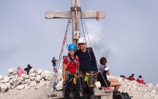 Na szczycie Mangartu