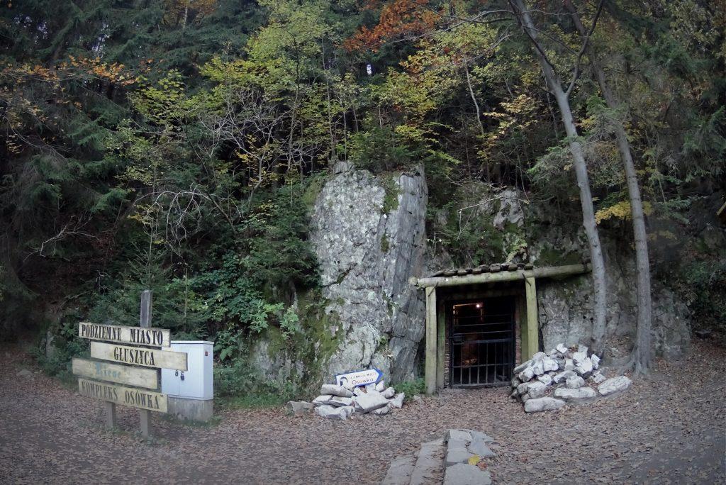 Wejście do Osówki