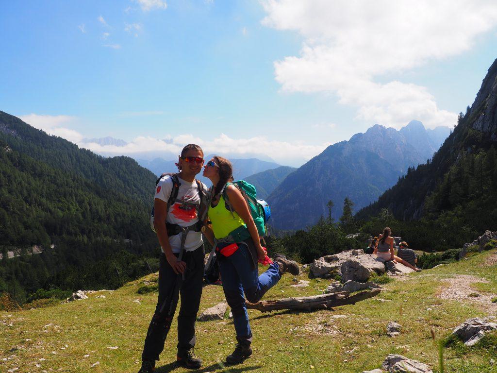 Na przełęczy Vrsic