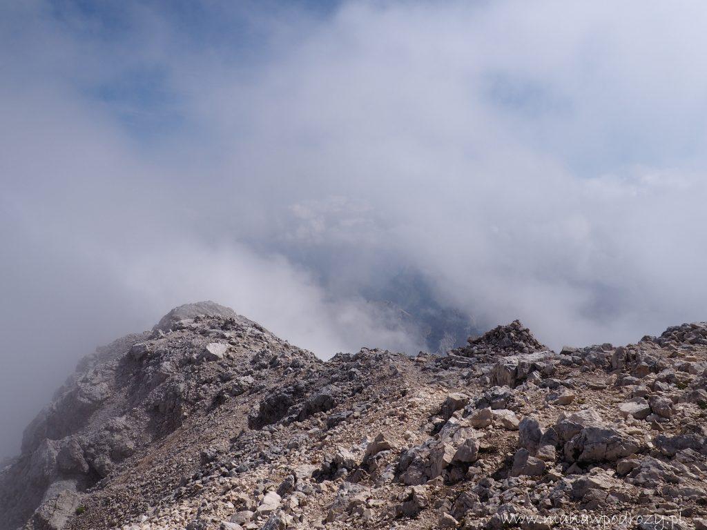Widoki ze szczytu Mangartu