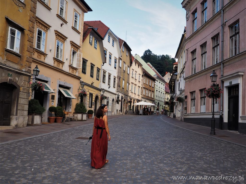 W kierunku Ljubjanskiego Zamku