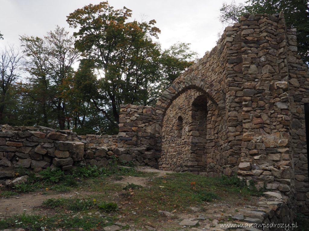 Ruiny zamku na Gromniku