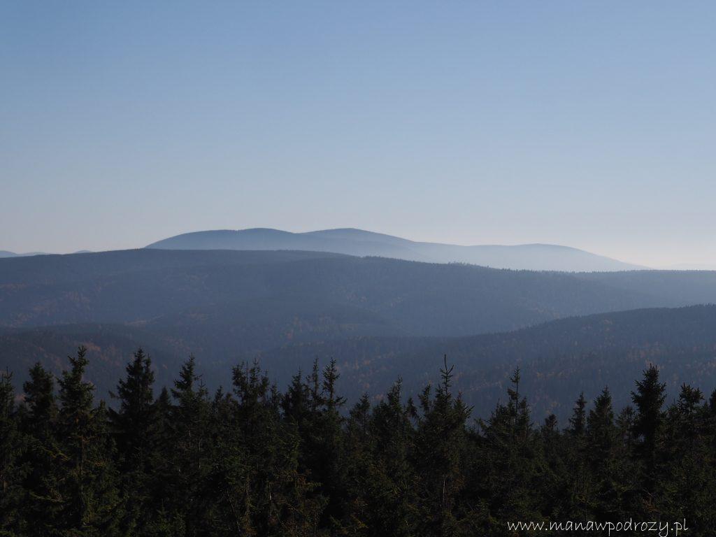 Masyw Śnieżnika- widok z Czernicy