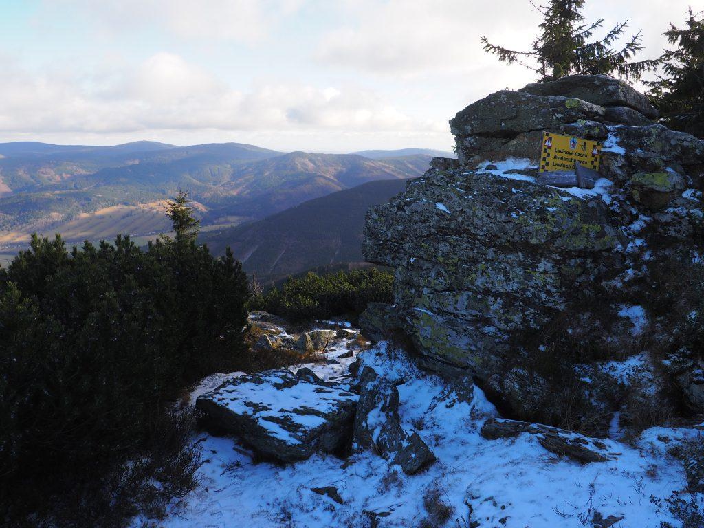 Nad zboczami Śnieżnej Kotliny