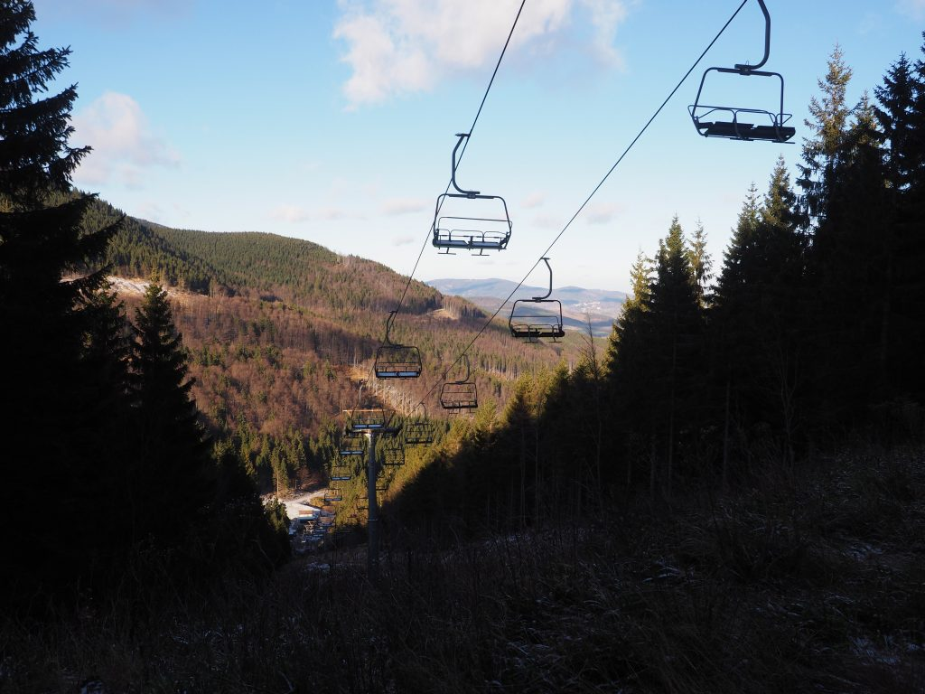 Stoki narciarskie z Cervenhorskiego Sedla