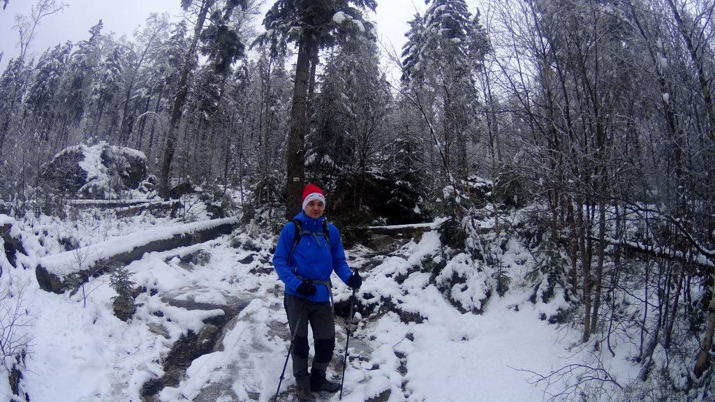 Początek żółtego szlaku na Szczeliniec