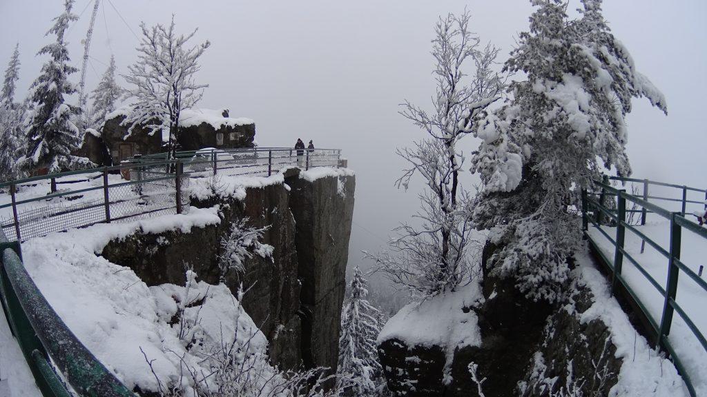 Urwisko skalne na Szczelińcu