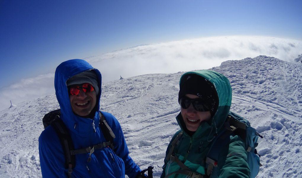 Na szczycie Babiej Góry