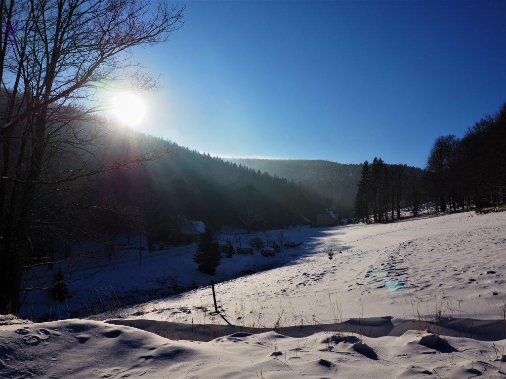 Kamienica- wieś pod Śnieżnikiem