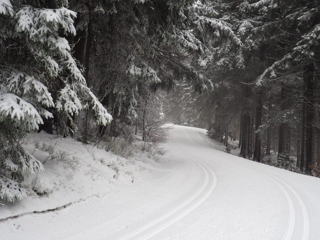 Zimowy szlak na Pradziad