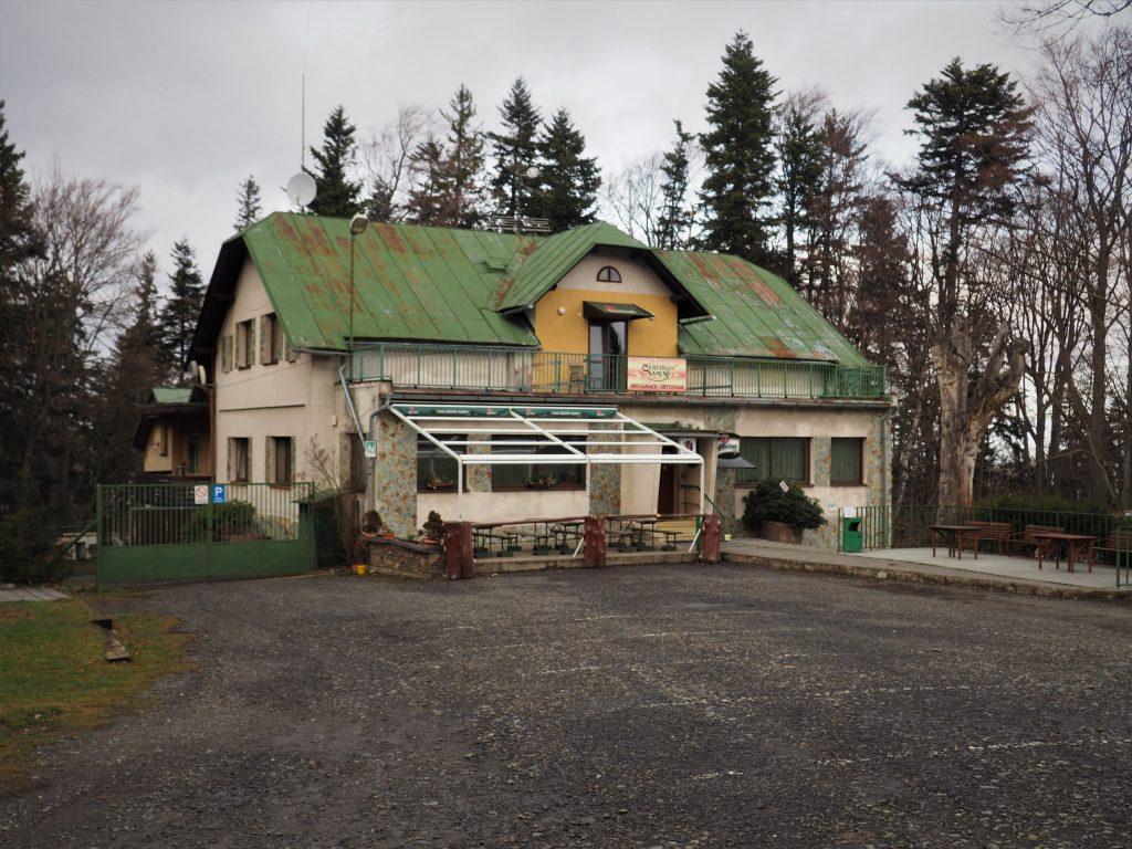 Schronisko Certovy Kameny.