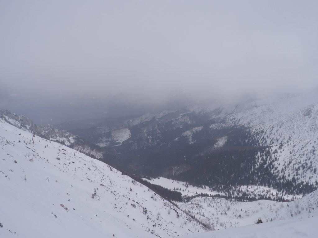 Widok w kierunku hali Kondratowej