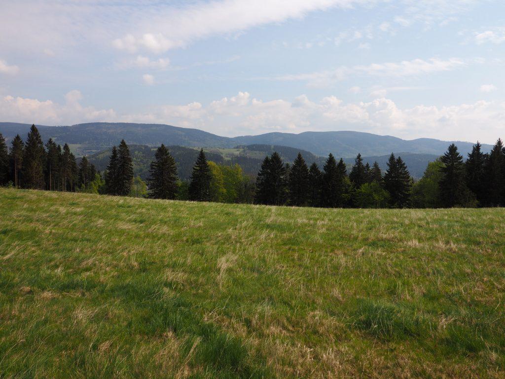 Panorama na Góry Sowie