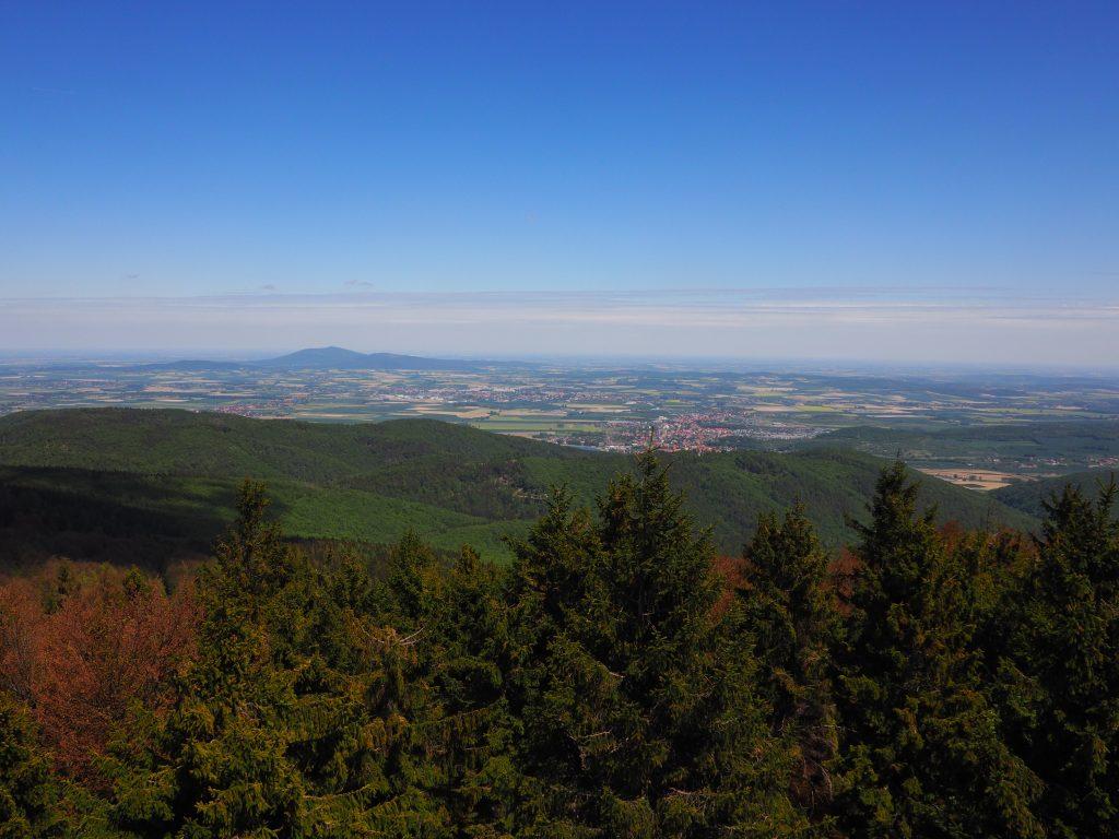Widok w kierunku Ślęży i Wrocławia
