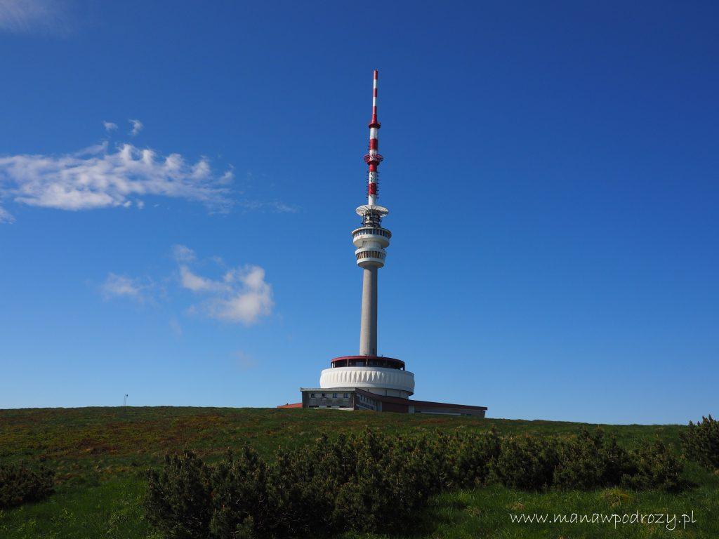 Wieża widokowa na Pradziadzie
