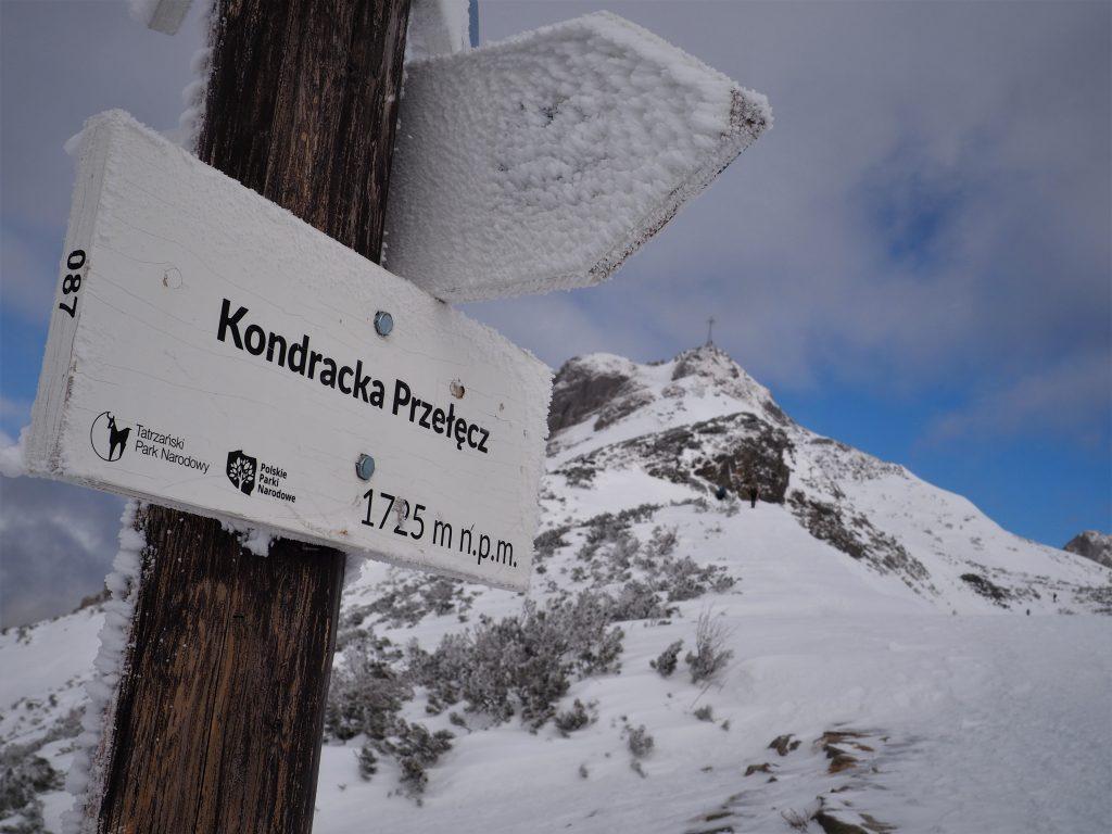 Na Kondrackiej Przełęczy