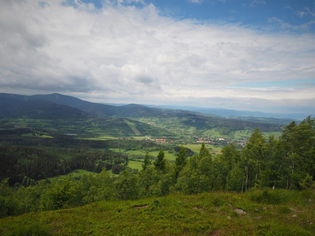 Widok na Stronie Śląskie