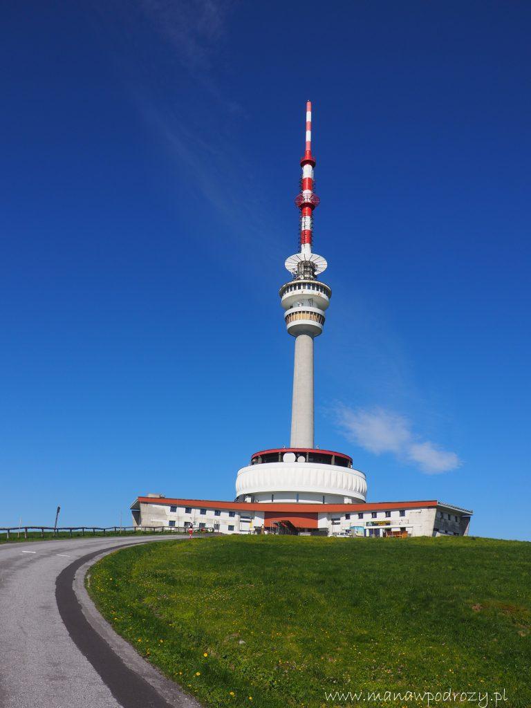 Wieża telewizyjno- radiowa. Symbol Pradziada