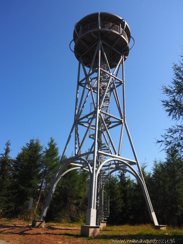 Wieża widokowa na Jagodnej