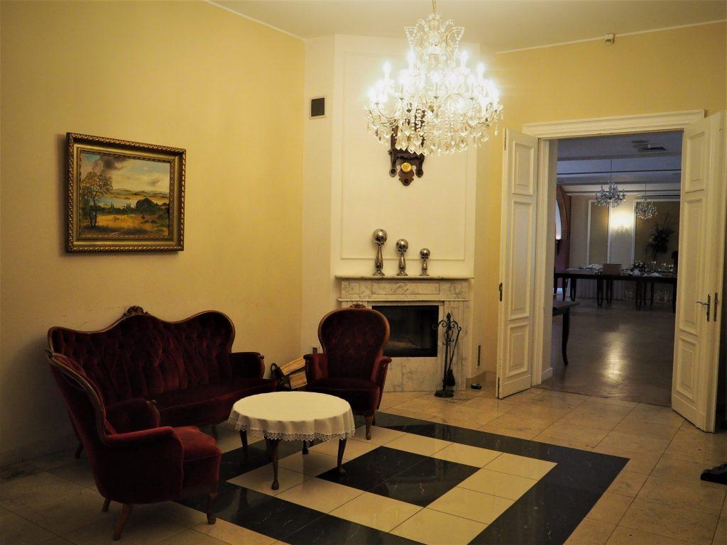 Wnętrza Pałacu w Pawłowicach