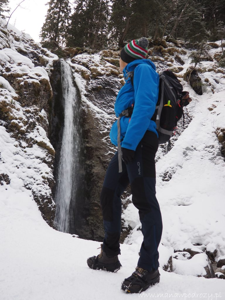 Przy wodospadzie Siklawica