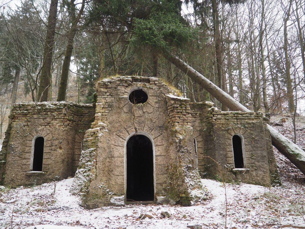 Ruiny zameczkuFriedenstein