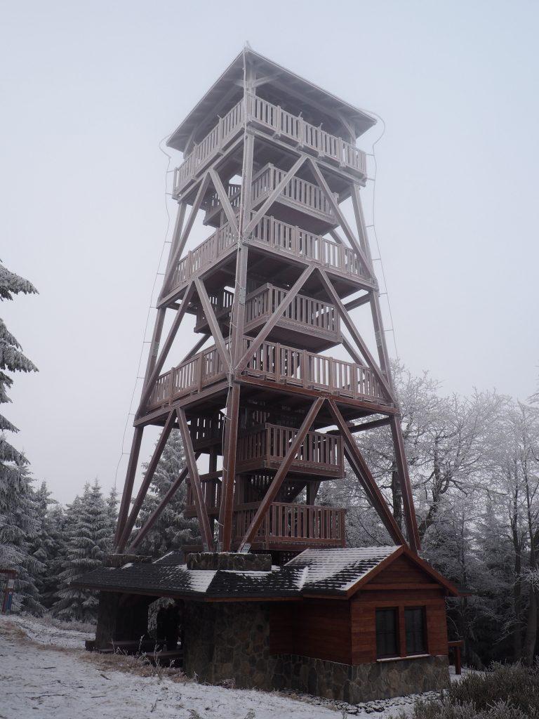 Nowa wieża widokowa na Orlicy