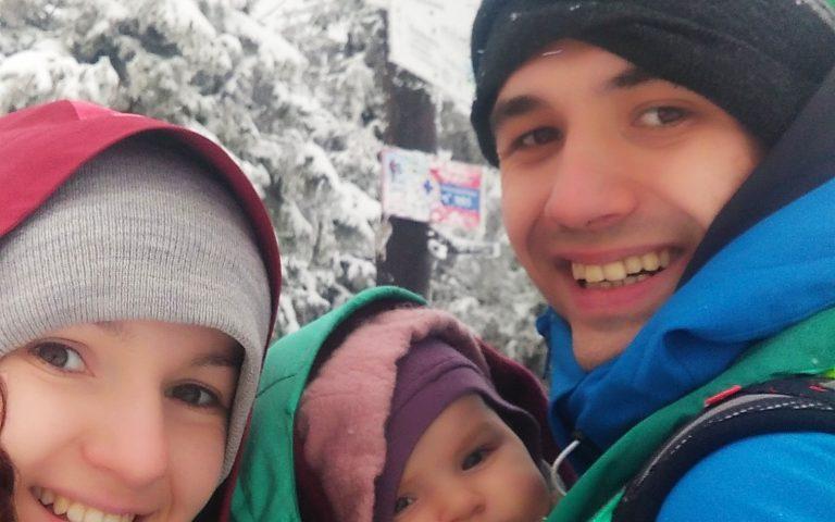 Szybkie selfie pod szczytem