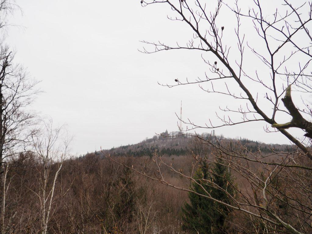 Na szczyt Ślęży jest już niedaleko;)