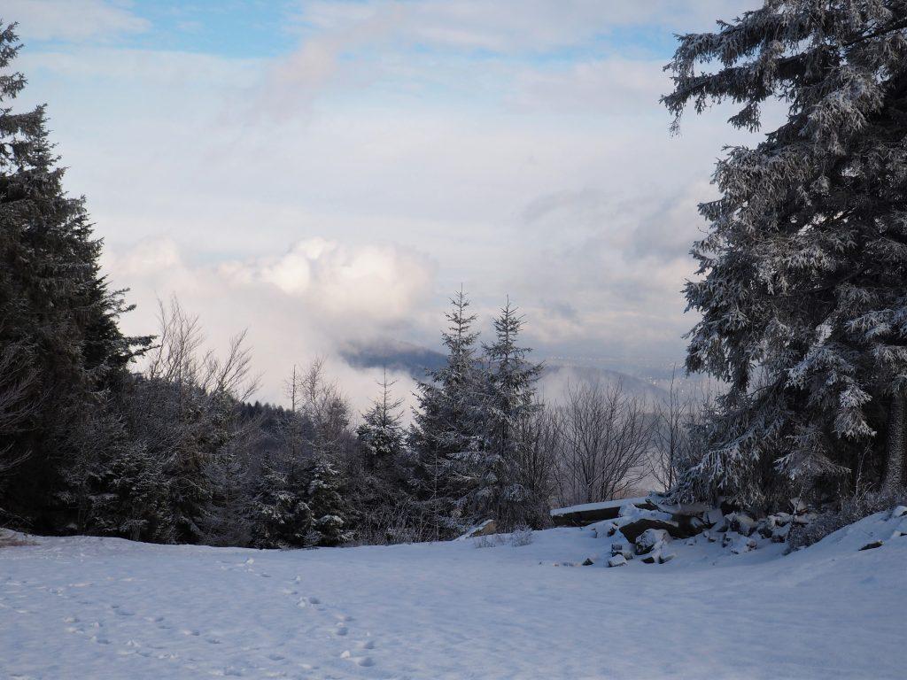 .... ale po chwili chmury się rozstąpiły i mogliśmy cieszyć się z pięknej pogody