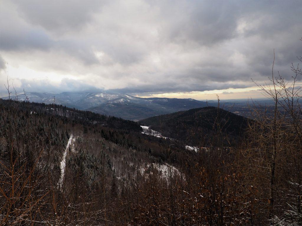 Widok na Szyndzielnię oraz Klimczok