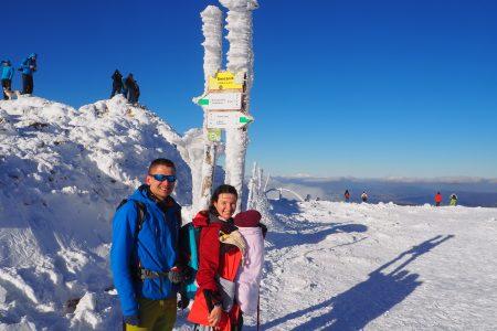 Na szczycie Śnieżnika