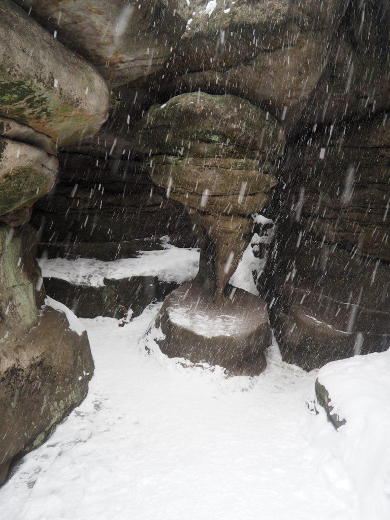 Kurza Stopka w śnieżne zawierusze