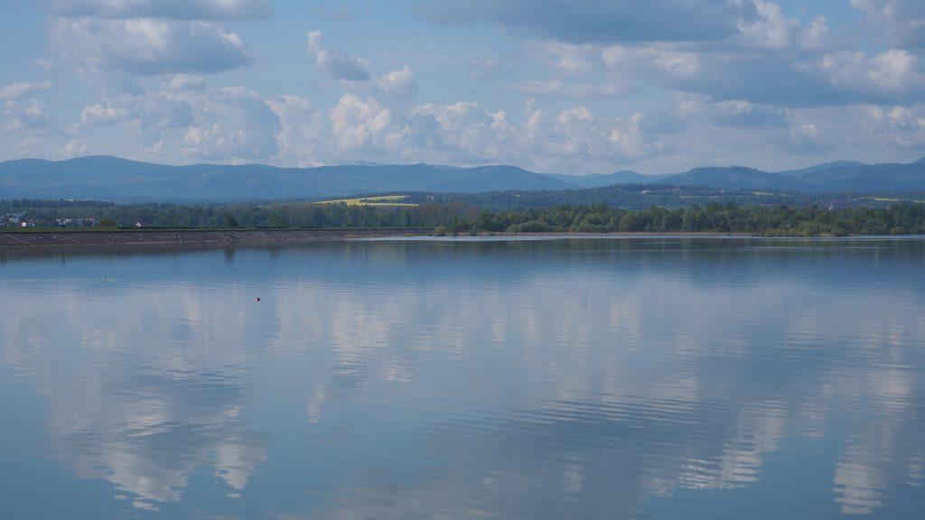 Po drodze możemy oglądać piękną panoramę, m.in. na Jeseniki