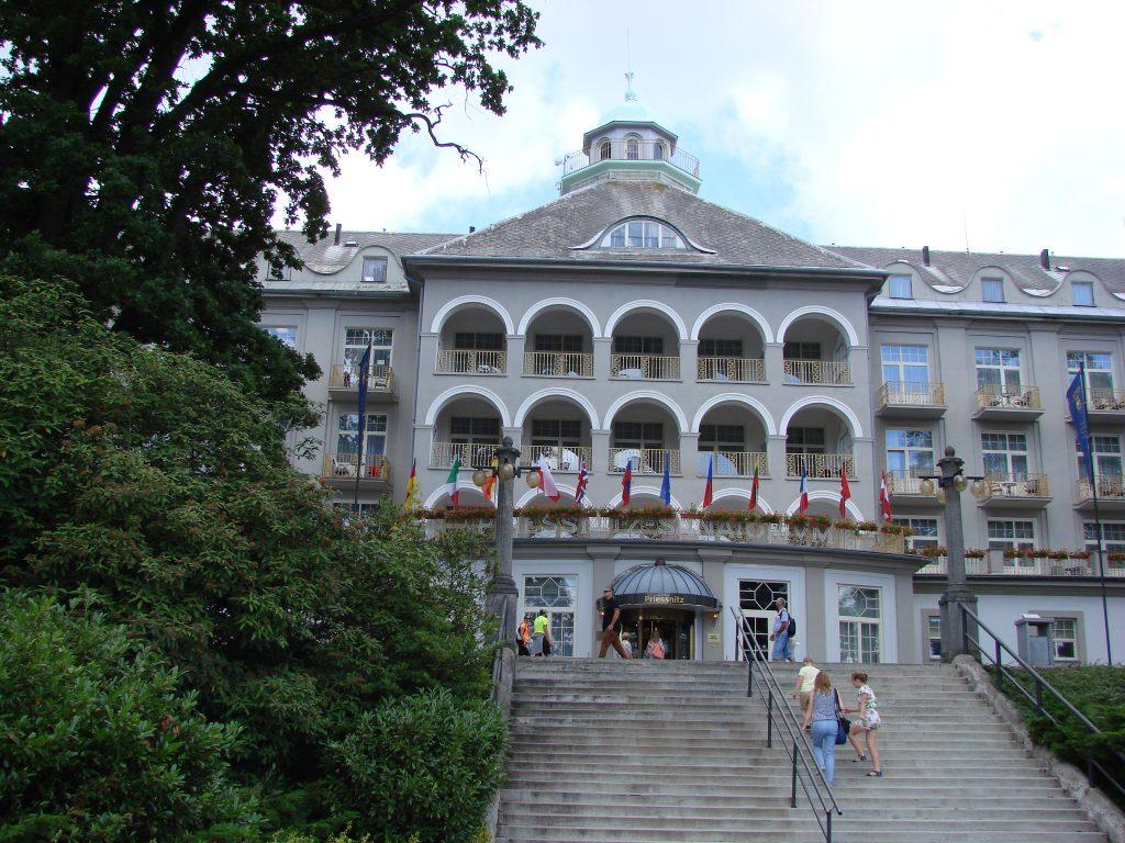 Sanatorium w Lazne Jesenik