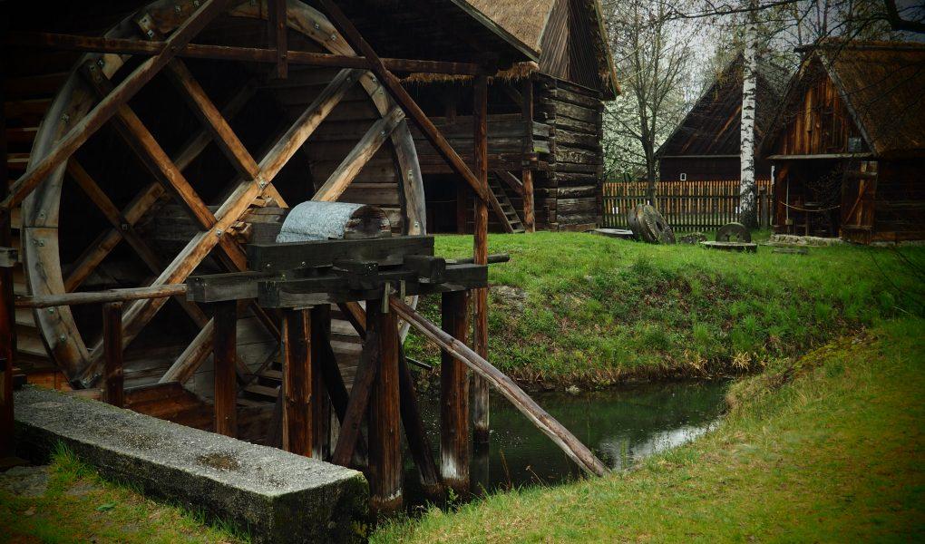 Stary młyn w Muzeum Wsi Opolskiej