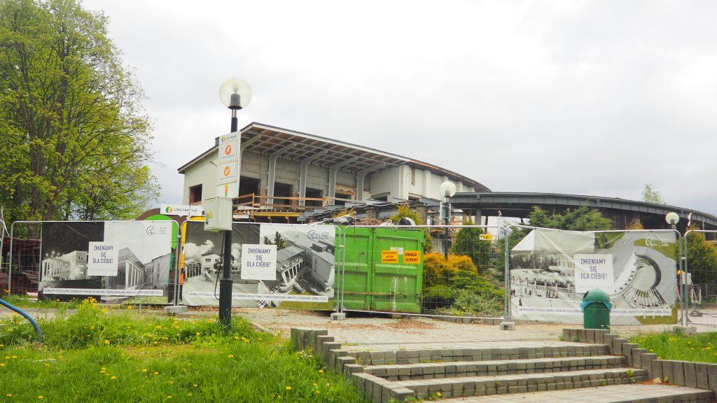 Kolejka na Górę Parkową- górna stacja