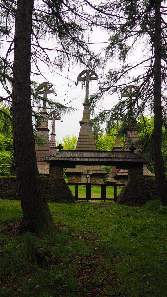 Cmentarz wojenny na szczycie Rotundy