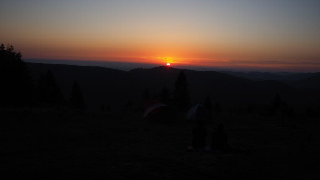 Wschód Słońca na Kiczerze