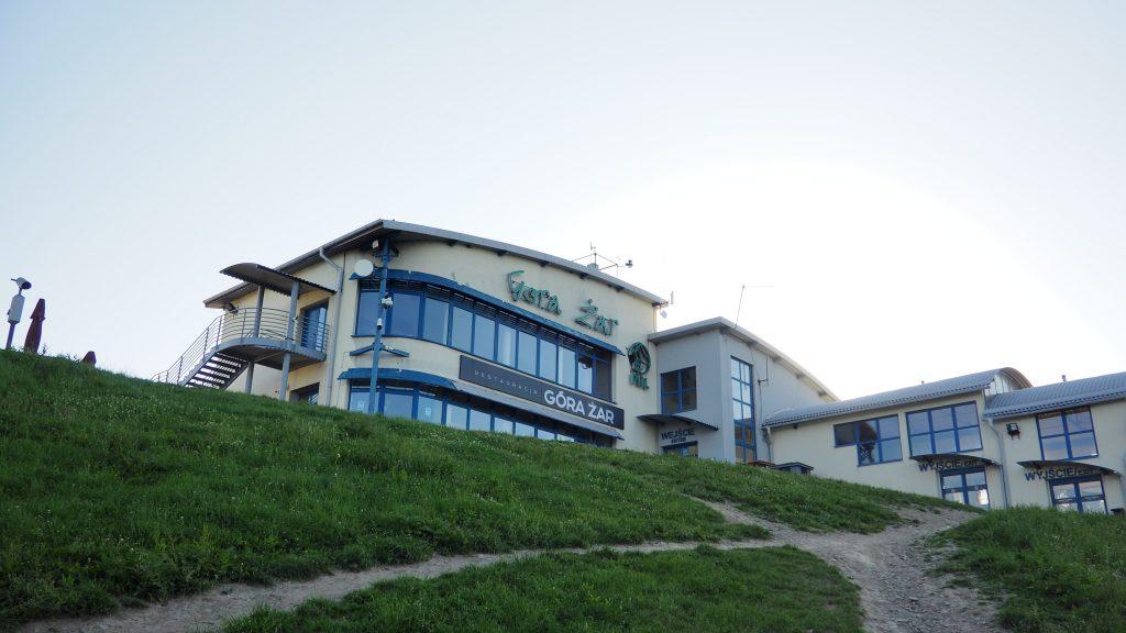 Górna stacja kolejki na Górę Żar