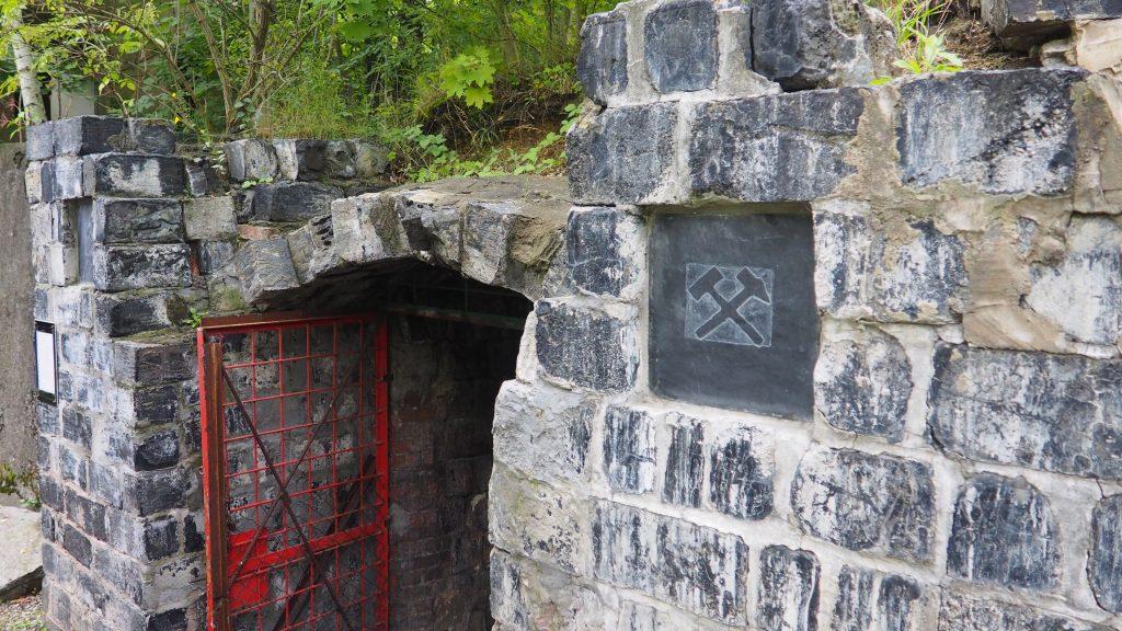 Wejście do sztolni ,,Robert'' w Szklarach